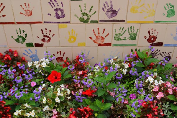 Children Handprints
