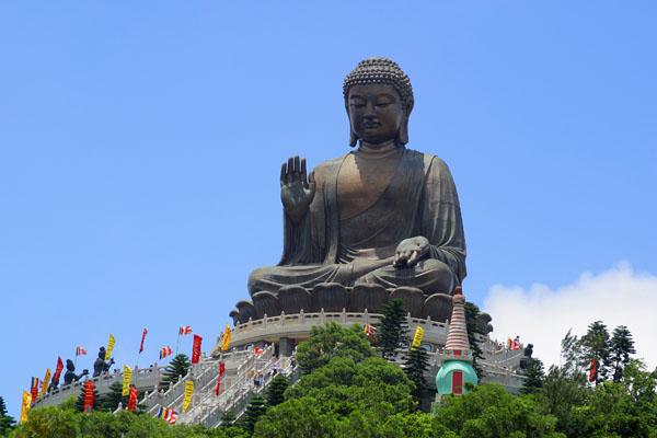 Big Buddha in Hong Kong