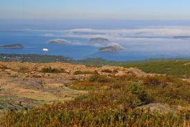 Sunset from Calilac Mountain, Acadia National Park