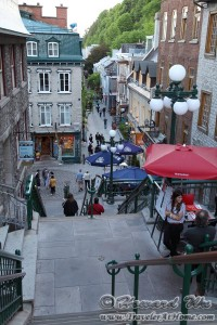 Quebec City Street Scene